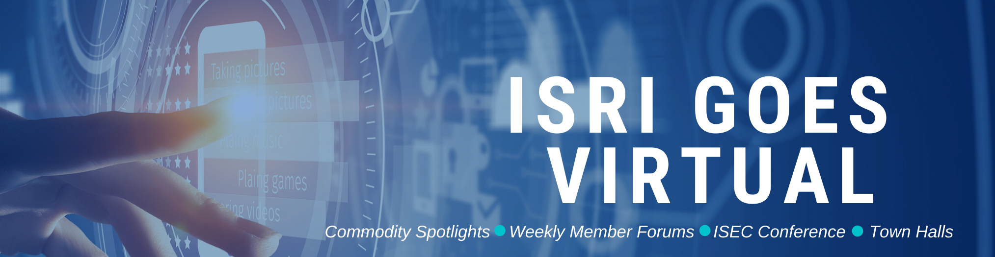 ISRI Goes Virtual
