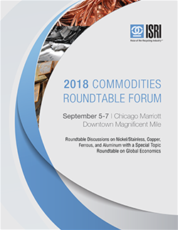 2018 Commodities Roundtable Cover